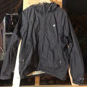 Eastern mountain sports rain jacket